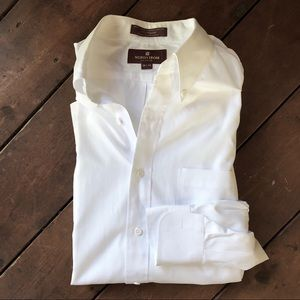 Nordstrom classic dress shirt 100% cotton